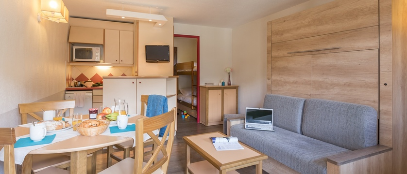 Les Ravines apartments interior